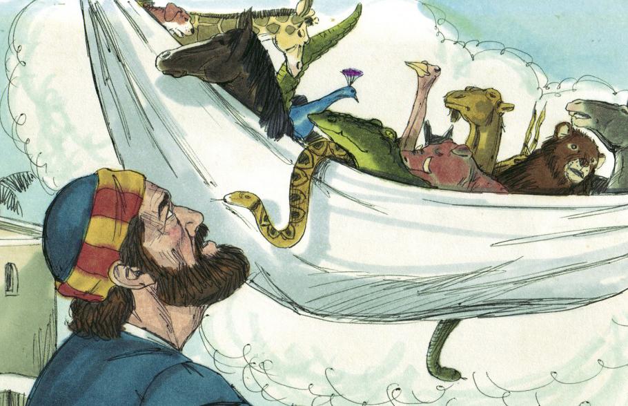 Petru si animalele din viziune